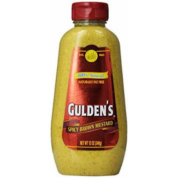 Gulden's Squeeze Brown Mustard - 12 oz