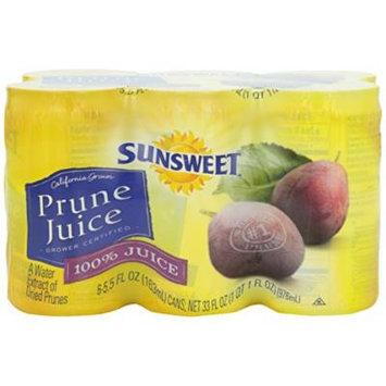 Sunsweet Prune Juice - 5.5 oz - 6 ct
