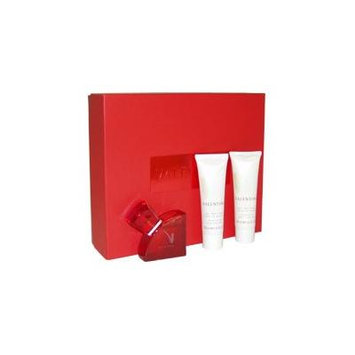 Valentino V Absolu for Women - 3 Piece Set: 1.6 Oz Eau de Parfum Spray + 1.6 Oz Exquisite Body Lotion + 1.6 Oz Exquisite Shower Gel By Valentino