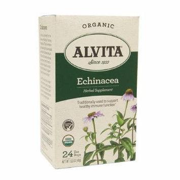Alvita Tea Bag - Organic, Echinacea 24 ea