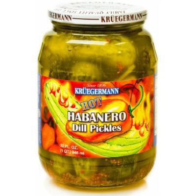 Hot Habanero Dill Pickles