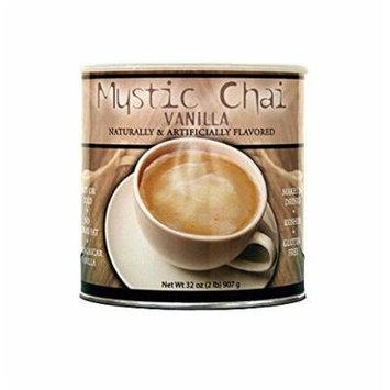 Mystic Chai Vanilla Tea, Total 6 Cans, 2 lb Each