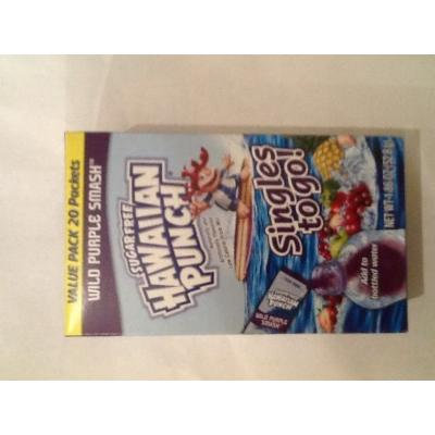Hawaiian Punch On-the-go, Wild Purple Smash, Value Pack 20-count (Pack of 2)