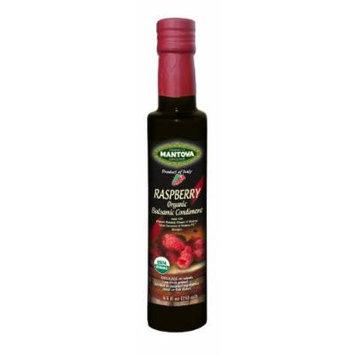 Mantova Organic Balsamic Vinegar, Raspberry, 8.5 Ounce