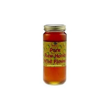 Raw Wildflower Honey 16 oz