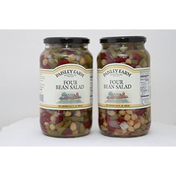 Paisley Farm 2- 35.5 Oz Natural Four Bean Salad, 71 Oz