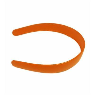 Orange Classic 2 Inch Plastic Hard Headband