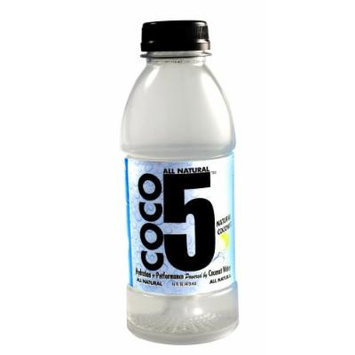 Coco5 All Natural Coconut Water, Natural, 12 Count