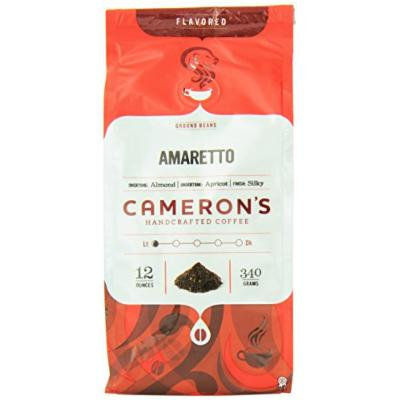 Cameron's Amaretto Ground Coffee, 12-Ounce Bags (Pack of 3)