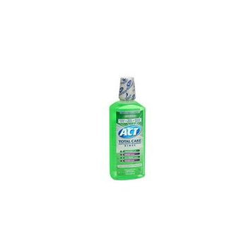 Act Act Anticavity Fluoride Mouth Rinse Alcohol Free, Fresh Mint 18 oz (Pack of 2)
