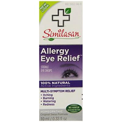 Similasan Allergy Eye Relief Eye Drops, .33 Ounce (2 Pack)