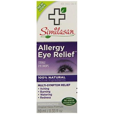 Similasan Allergy Eye Relief Eye Drops, .33 Ounce (2 Pack)