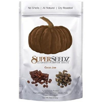 SuperSeedz Gourmet Pumpkin Seeds Coco Joe - (6 Pack)