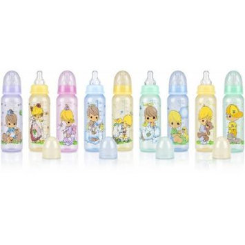 3-Pack 8Oz. Round Tinted Printed Bottle (48 Pieces)