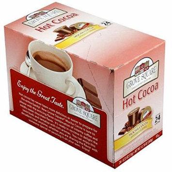 Grove Square Mocha Hot Cocoa - 24 per pack -- 4 packs per case.
