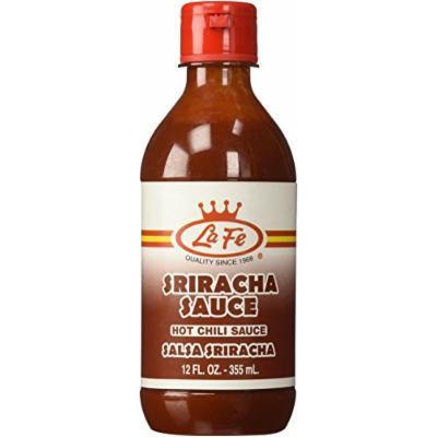 La Fe Colombian Sriracha Hot Chili Sauce 12 Oz