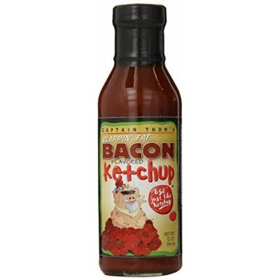 Baron Captain Thom's Slappin Fat Bacon Ketchup, 12 Ounce