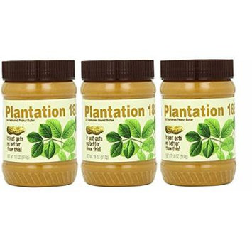 Bell Plantation Creamy 1883 Peanut Butter 16 Oz (3-Pack)