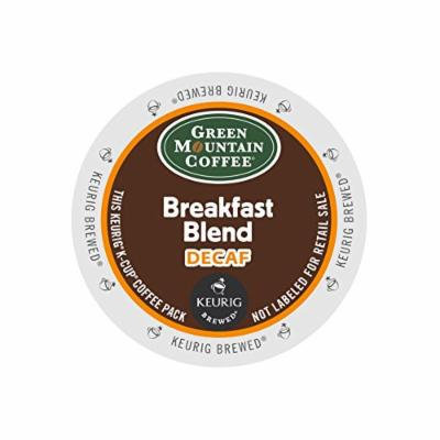 Green Mountain Coffee, K-Cup, Breakfast Blend Decaf for Keurig Brewers, 24 Count K-Cups