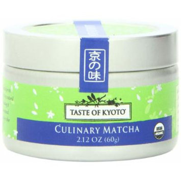 TASTE OF KYOTO Matcha Green Tea, Culinary, 2.12 Ounce