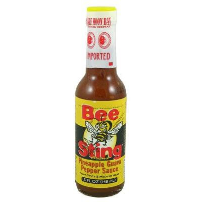 Bee Sting Pineapple Guava Hot Sauce (Pack of 3)