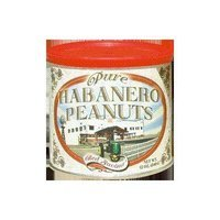 Pure Habanero Peanuts - Delicious gourmet peanuts lightly covered with habanero flavoring for a taste that's sure to tickle your fancy!