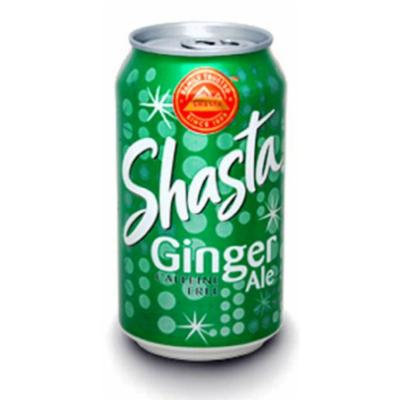 Shasta Ginger Ale, 12-Ounces (Pack Of 24)