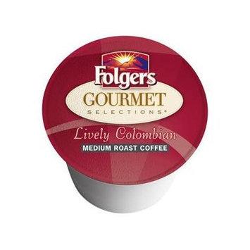 Folgers K cups lively columbian medium roast 40 cups