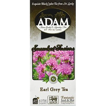 Adam Tea, Earl Grey, 100 Count