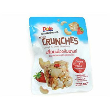 Dole Mini Crunches Cashews & Dried Strawberry