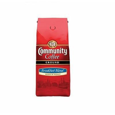 Community Coffee Ground Breadfast Blend Medium Roast 40 Oz.