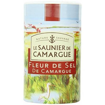 Le Saunier De Camargue Fleur De Sel Sea Salt, 35.27-Ounce (1 Kg) Canister (3 PACK)