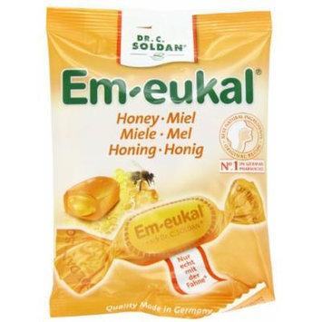 Dr. Soldan Em-eukal Cough Drops Bag, Honey, 2.65 Ounce
