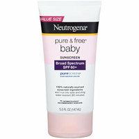 Neutrogena® Pure & Free® Baby Sunscreen Lotion Broad Spectrum SPF 60