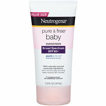 Neutrogena® Pure & Free® Baby Sunscreen Lotion Broad Spectrum SPF 60