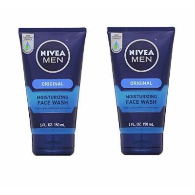 Nivea Men Original Moisturizing Face Wash - Pack of 2 - 5 Oz Each