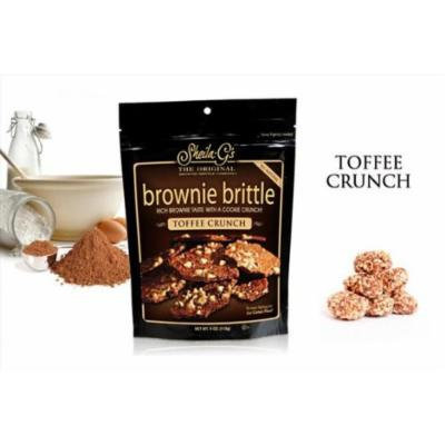 Sheila G's Toffee Crunch Brownie Brittle 2 Oz. Bag (Pack of 24)