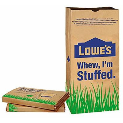 Lowes 30 Gallon Paper Yard Waste Bags, 5 Count (Pack Of 2) 10 Bags Total