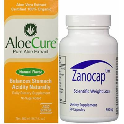 AloeCure Pure Aloe Vera Juice and Diet Pill Combo