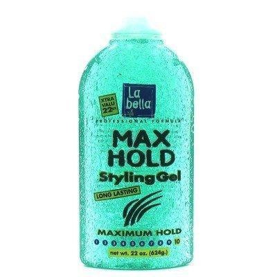 La Bella Gel Style 22 oz. Maximum Hold (3-Pack) with Free Nail File