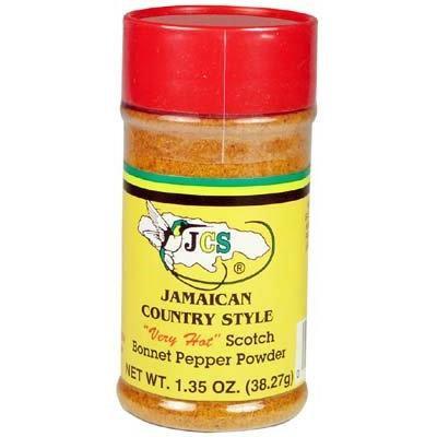 Scotch Bonnet Pepper Powder 1.35 Oz (10 Pack)