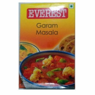 Everest Garam Masala Used Essentially for Preparing Vegetarian Dishes Requiring a Gravy (100 Gms)