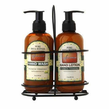 Out Of Africa Hand Caddy Duo HandWash/Hand Lotion, Lemon Verbena 1 set