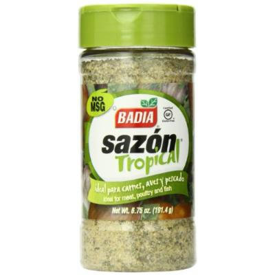 Badia Sazon Tropical Seasoning, 6.75 Ounce (Pack of 12)