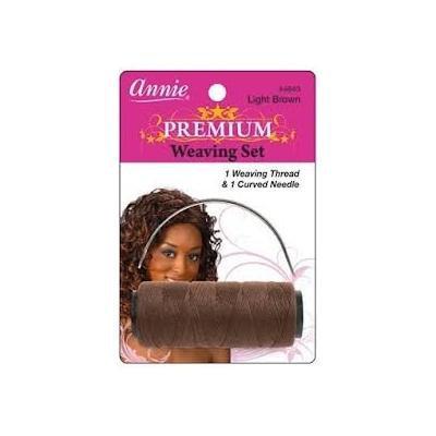 Annie Light Brown Premium Weaving Set 1 Weaving Thread 1 Curved Needle 4843