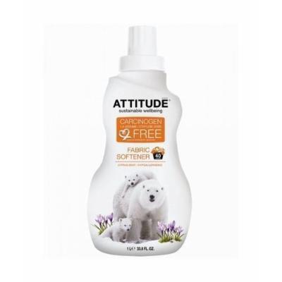 (6 PACK) - Attitude Fabric Softener - Citrus Zest (40 Load) , 1Ltr , 6 PACK - SUPER SAVER - SAVE MONEY