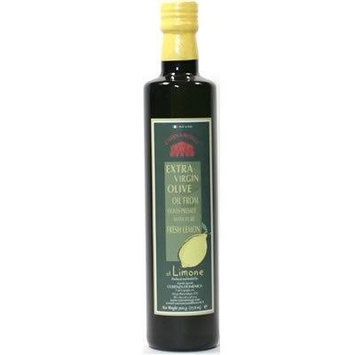 Italian Organic Extra Virgin Olive Oil Pressed with Lemon - 1 x 0.5 liter