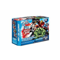 Langers Marvel Avengers Lite Tropical Blend 100% Juice Pouches, 6.75 Ounce (Pack of 10)