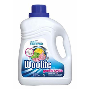 Woolite Gentle Cycle Liquid Laundry Detergent for HE and Regular Machines, Sparkling Falls Scent, 100 Ounce