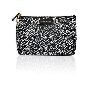 Victoria's Secret Medium Rhinestone Cosmetic Makeup Bag